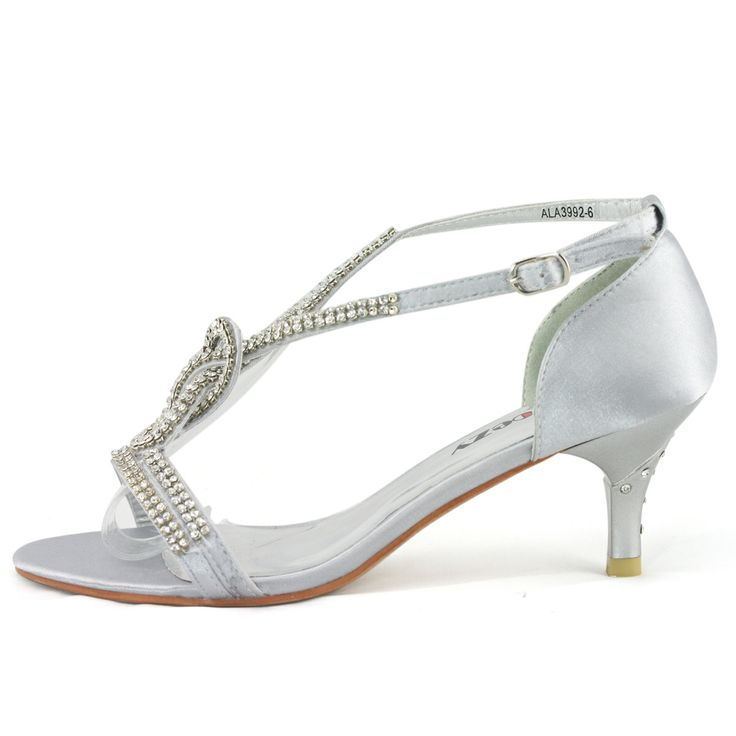 Silver Kitten Heel Shoes Prices