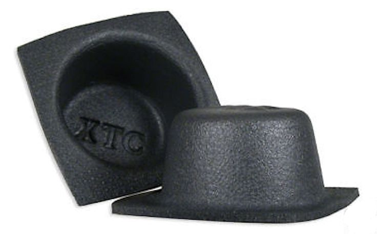 """Metra Install Bay VXT652 6-Inch 6.5"""" Round Shallow Small Frame Acoustic Baffles Pair. Shallow Foam Small Frame Acoustic Speaker Baffles. Includes a pair of 6"""" round baffles. Made from a waterproof foam. Creates a tight, acoustic seal behind the speaker to enhance the sound quality. Compresses and forms to the shape of most installations."""