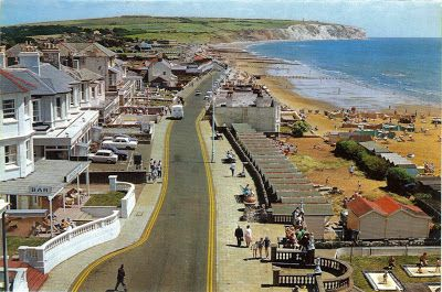 This is how Sandown on the Isle of Wight looked in the 1970s.