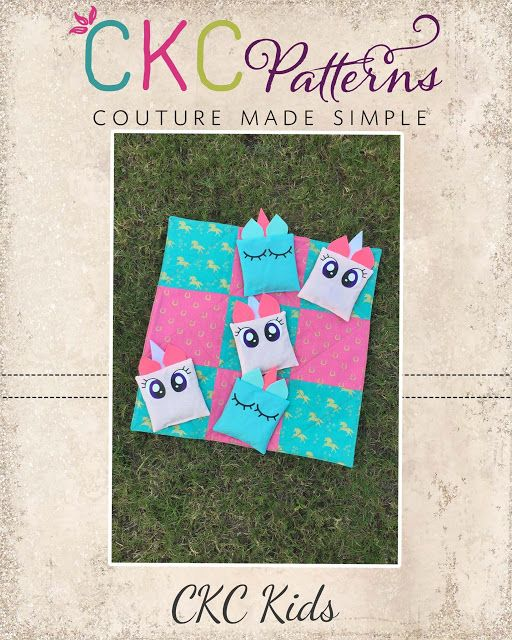 Create Kids Couture: Unicorn Tic Tac Toe