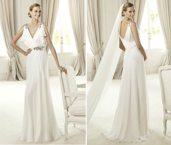 Grecian Style Wedding Gown: 17 Best Images About Grecian Wedding Dresses And Gowns On