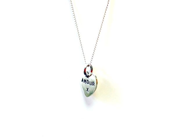 Amour heart necklace. See the full Livto collection at www.livto.co.uk