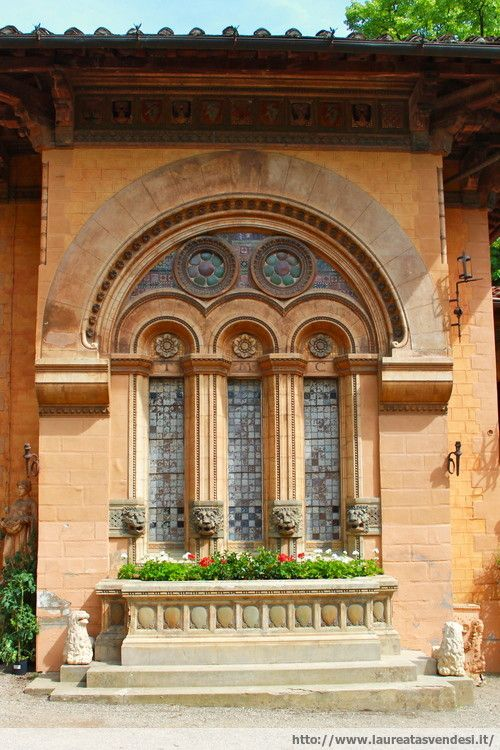 L'ex stabilimento termale Tamerici a Montecatini Terme, in Toscana