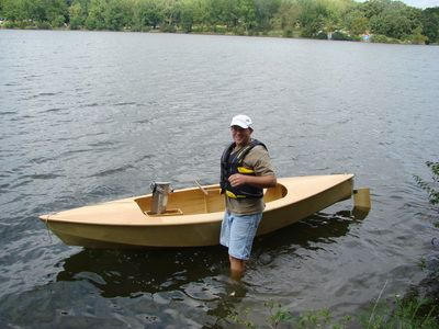 My name is Bill Goldthorpe. I've been building small boats like these since 2006.  When I first got the idea to build a pedal powered kayak, I searched the internet for plans or information. What I...