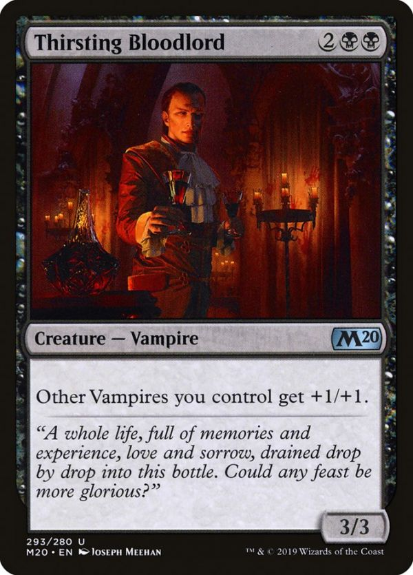 Imperious Bloodlord Mtg altered art card Sorin