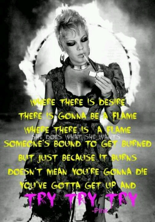 46 best P!nk images on...P!nk Lyric Quotes
