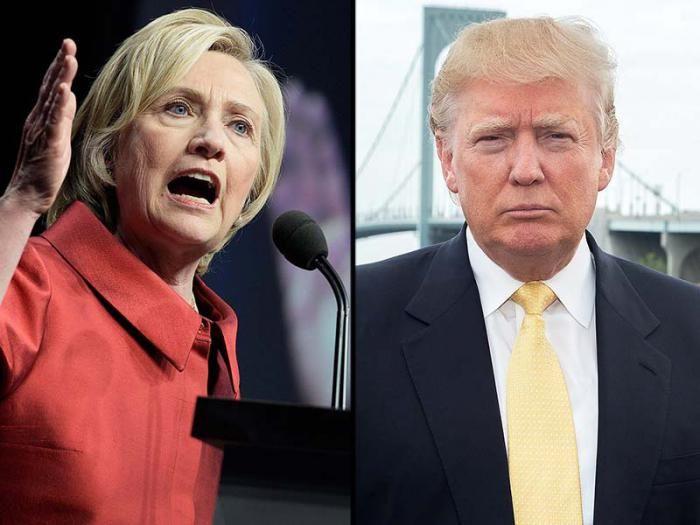 Hillary Clinton y Donald Trump Dos candidatos necesitados de maquillaje  Hillary Clinton y Donald Trump irán a las convenciones nacionales de sus respectivos partidos, cada uno con las tres quintas partes de los delegados, cifras más que suficientes para invalidar cualquier intento de negarles la nominación presidencial