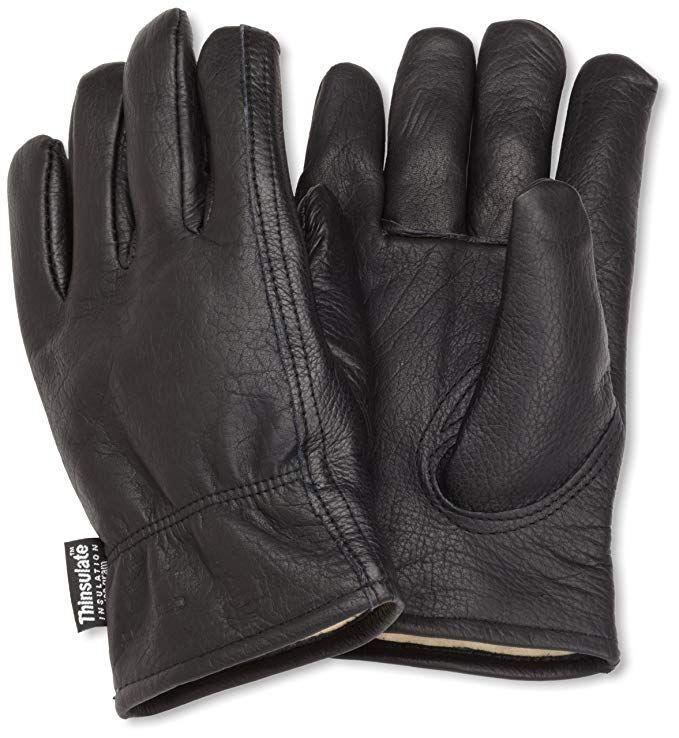 Carhartt Men S Insulated Full Grain Leather Driver Work Glove Black Small Carhartt Mens Gloves Driver Work