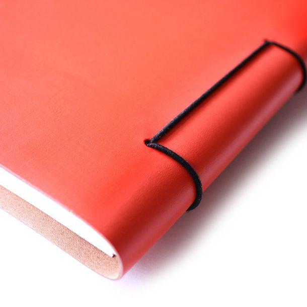 eu.Fab.com | Sketchbook A4 Orange great idea for my process sketch book