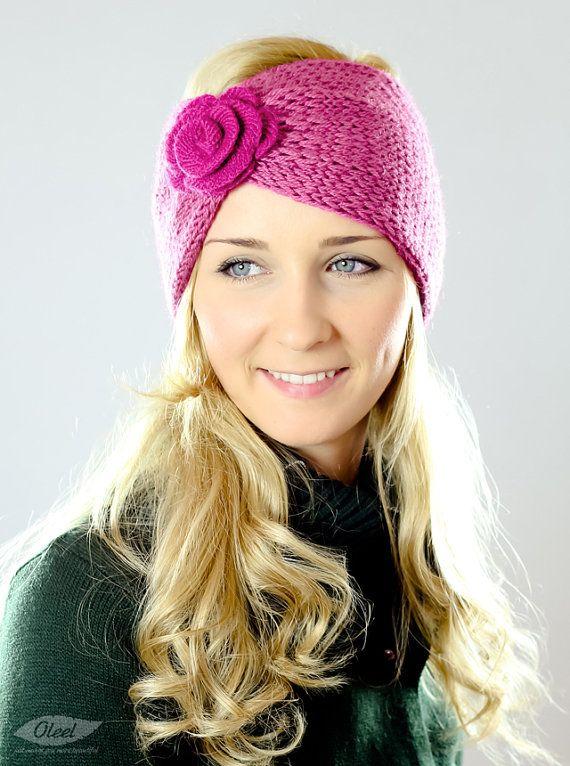 90 Best Ear Warmers Images On Pinterest Knit Crochet Crochet Hats