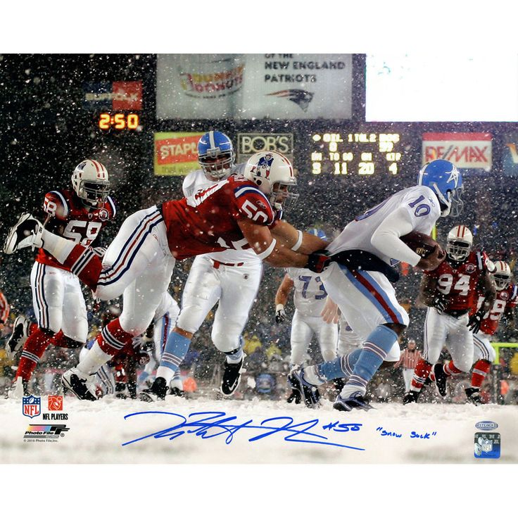 ROB NINKOVICH SIGNED PATRIOTS 16X20 PHOTO INSCRIBED STEINER COA FRAMED