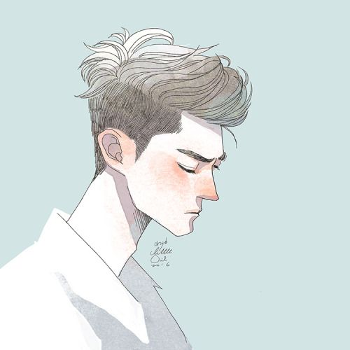 Best Boy Illustration Ideas On Pinterest Boy Drawing - Hairstyle drawing tumblr