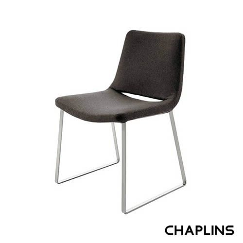 B&B Italia Metropolitan Flat Steel Base Chair by Jeffrey Bernett - Chairs - KITCHEN & DINING
