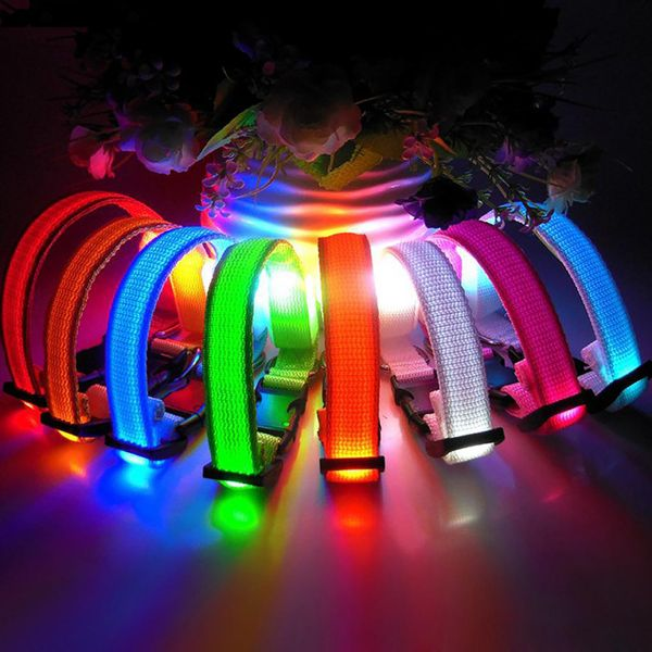SPECIAL PRICE - GLOW LED Dog Collars - 5 CENT PROMO