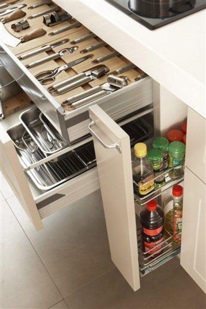 17 mejores ideas sobre cajones de la cocina en pinterest for Organizar cajones cocina