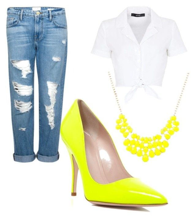"""""""Be brave! Wear Yellow """" by andreea-sydney on Polyvore"""