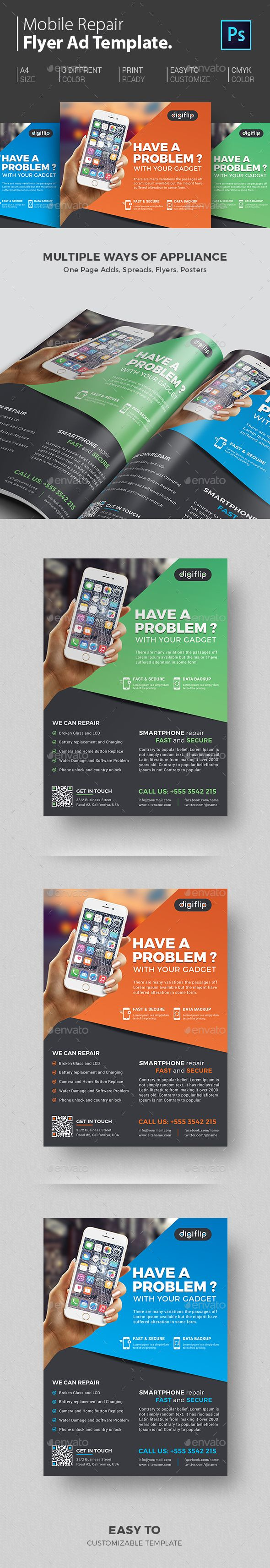 The 25 best ideas about Mobile Computer Repair – Computer Repair Flyer Template