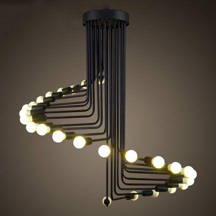 Винтаж промышленные лофт освещение подвеска творческие огни черный металл висячие светильники 110 В / 220 В lampadario промышленногокупить в магазине SMART COB LIGHTING LIMITEDнаAliExpress
