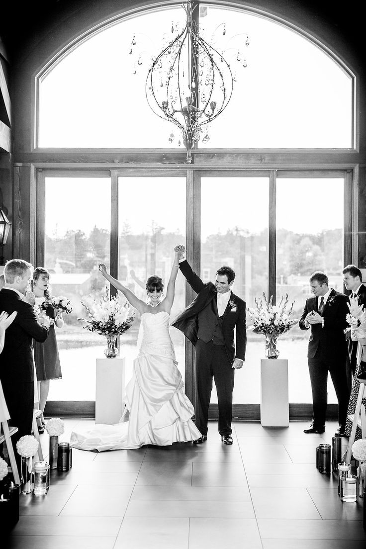 sweetheart neckline, A line wedding dress with train, Happy couple, Newly weds, Black and white Cambridge Mill, Cambridge, Ontario, Canada wedding photography experts | Anne Edgar Photography