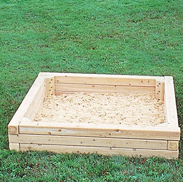 Wooden Sand Box for Lillian :)