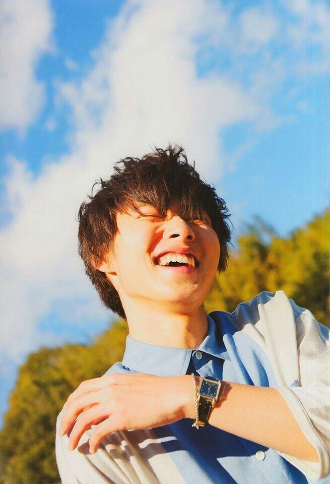 "Yamazaki Kento as Sata Kyouya, J LA movie ""Wolf girl & black prince"", May/2016"
