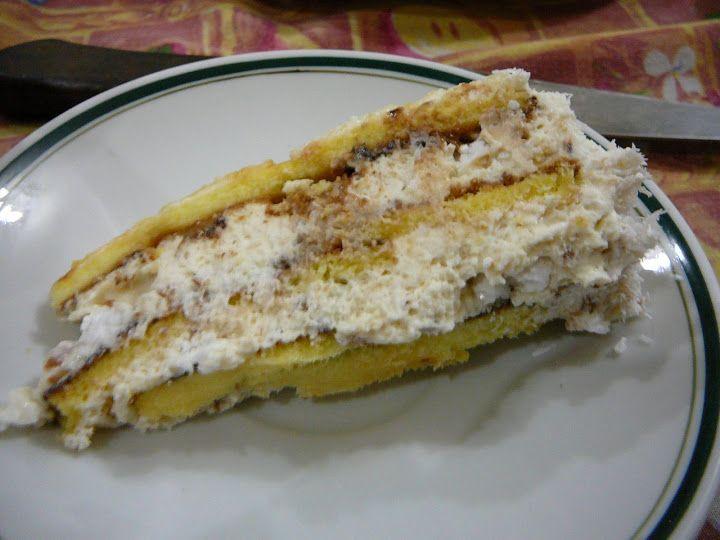 """Esta torta la hizo Osvaldo Gross los otros días en su programa """"Método Gross"""" de El Gourmet. Mi marido la vió y se le antojó ..."""