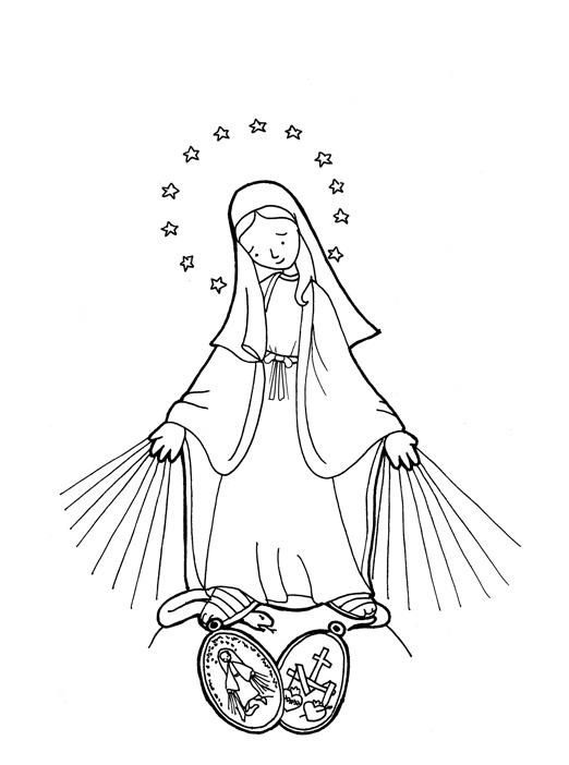 roman catholic coloring pages - photo#33