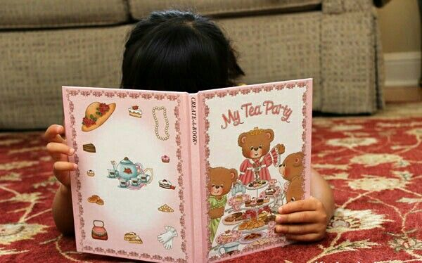 My Tea Party Personalised Story Books