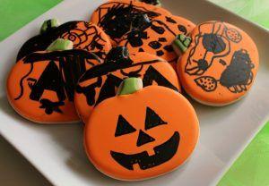 bolachas decoradas halloween
