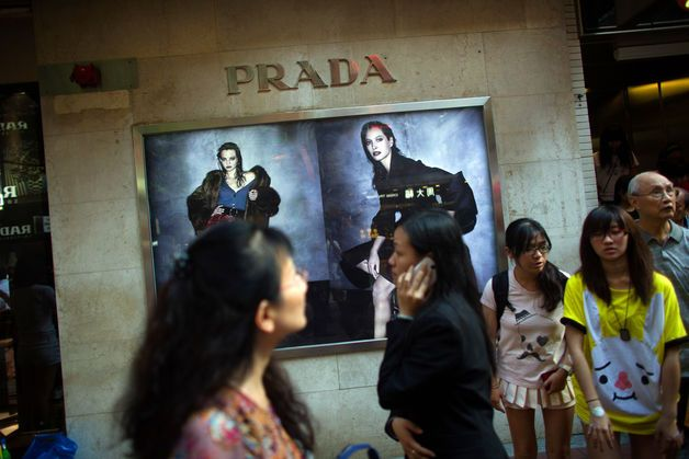 Prada Forecasts Slowing Sales Growth as Luxury-Goods Demand Ebbs - BLOOMBERG #Prada