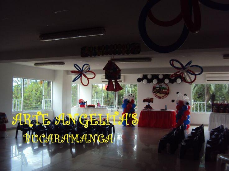 decoracion cars