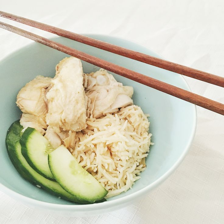 #adoracooks Hainan Chicken Rice