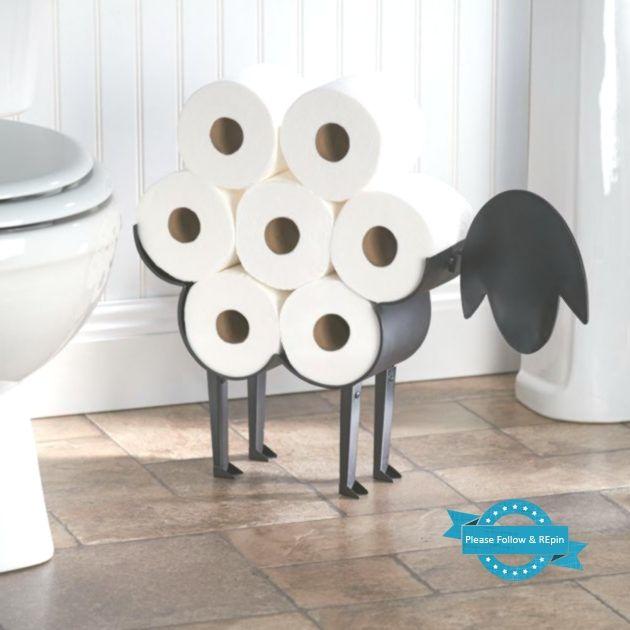 16 Wirklich Coole Moglichkeiten Um Toilettenpapier Im Badezimmer Zu Lagern To Toilettenpapier Aufbewahrungsbehalter Toilette