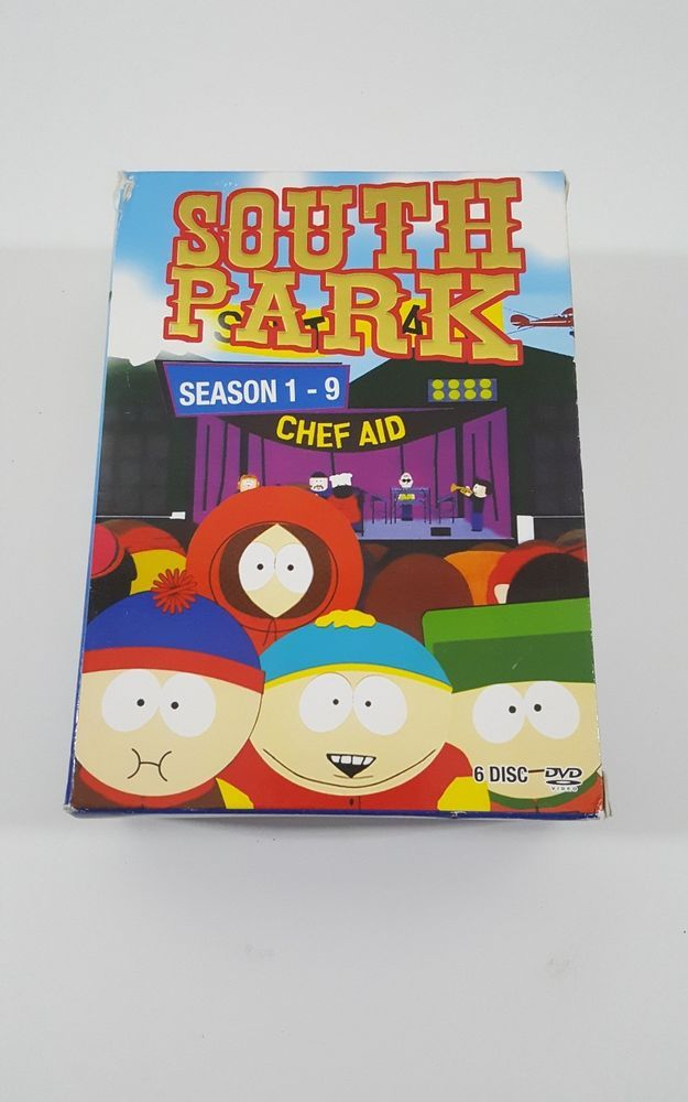 south park season 1-9 chef aid  | DVDs & Movies, DVDs & Blu-ray Discs | eBay!