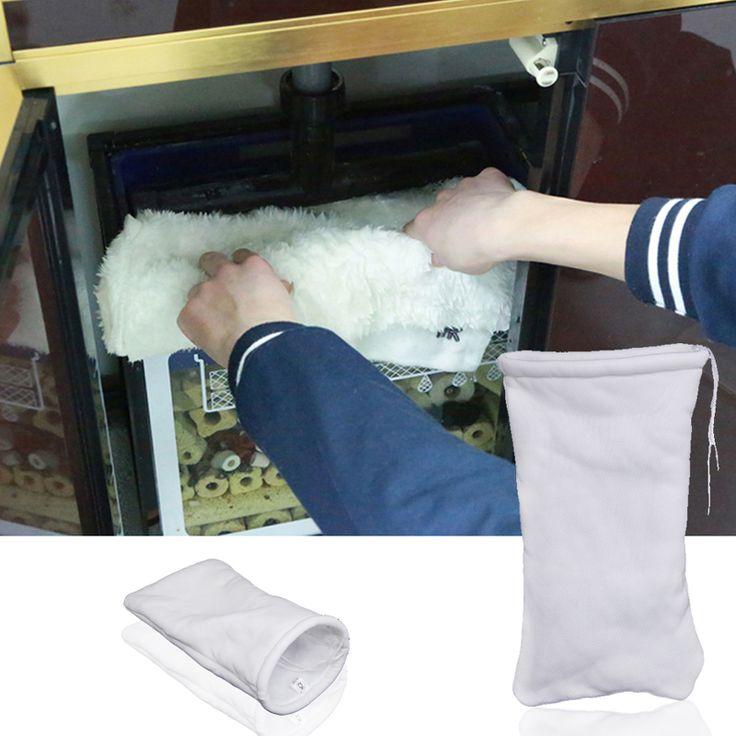 35x20cm Fish Tank Magical Filter Sock Bag Aquarium Sump Dry Wet Separation Filter Cotton Bag Aqaurium Filter Accessories