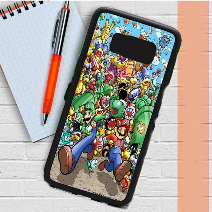Super Mario Old Game Samsung Galaxy S8 Plus Case Casefreed