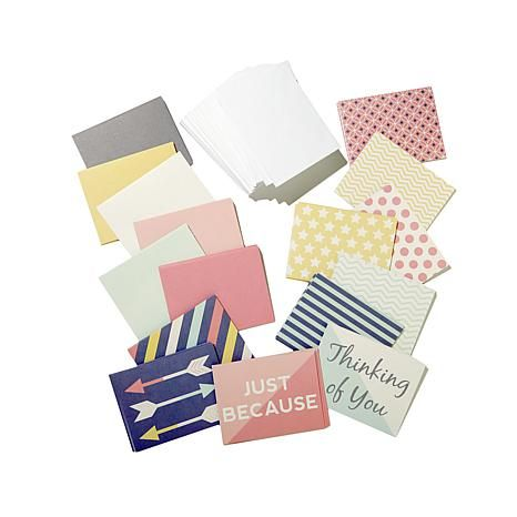 Diamond Press Blank Cards & Envelopes - Just Because - HSN 457-420