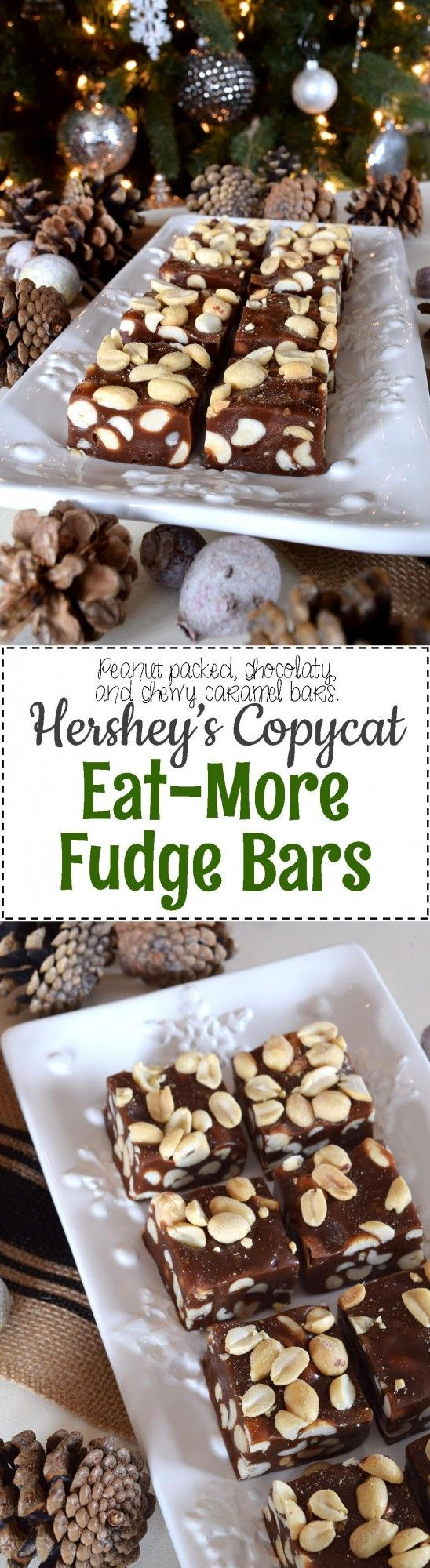 Hershey's Copycat Eat More Fudge Bars - Lord Byron's Kitchen