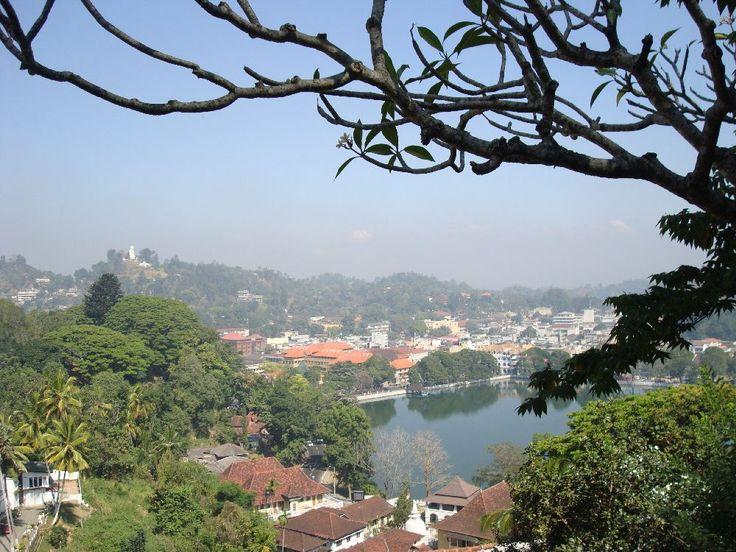 Kandy town view #SriLanka