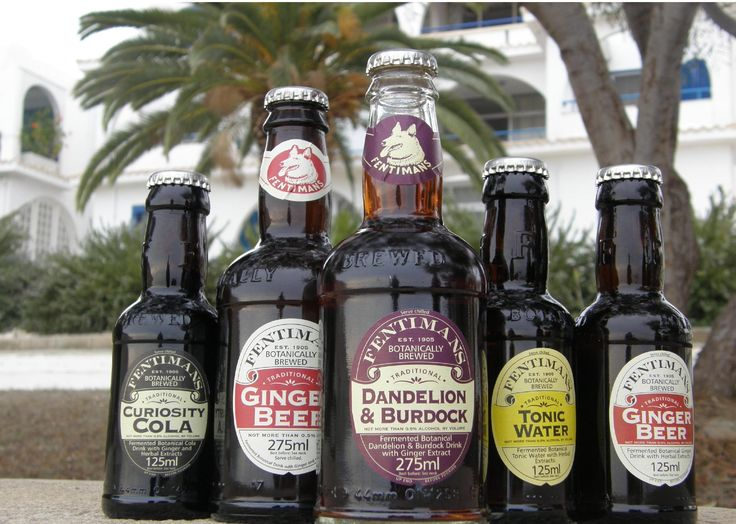 Fentimans delicious botanically brewed beverages end up all over the world - in this case, Cyprus!