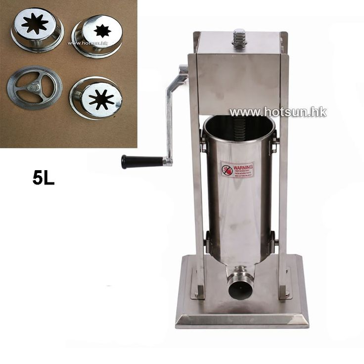 310.00$  Watch here - http://alivik.worldwells.pw/go.php?t=32785335542 - Free Shipping 5L Stainless Steel Manual Vertiacal Churros Machine Maker 310.00$