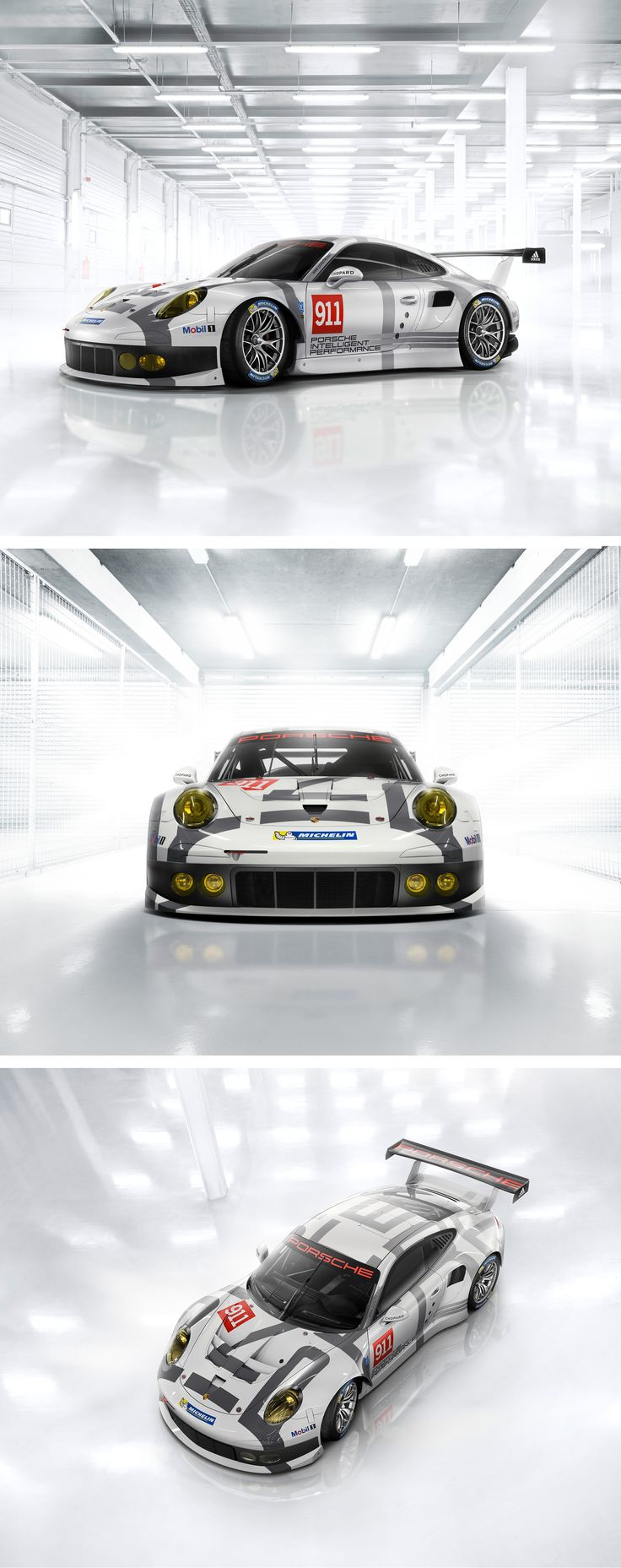 The quintessence of over 30.000 race victories. The ambassador of our brand core. The Porsche 911 RSR.