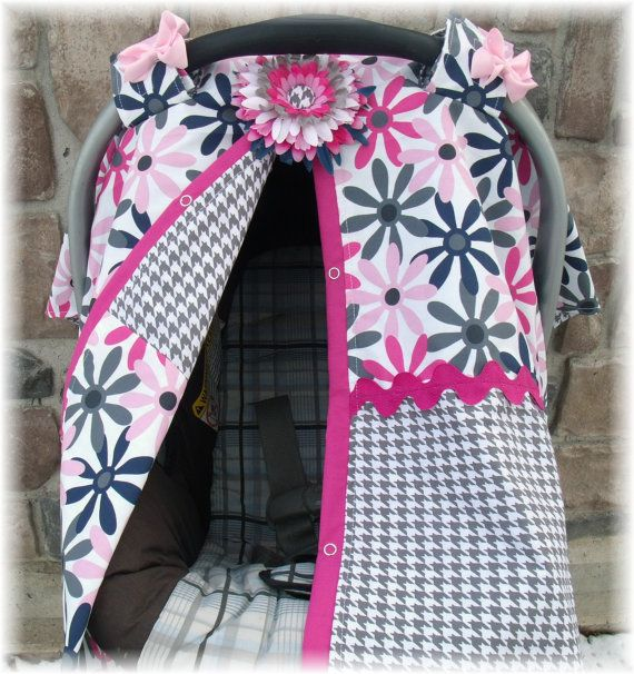 Carseat Canopy Stylish Cover To Keep Them Germs And Weather Off Your Precious Lil One