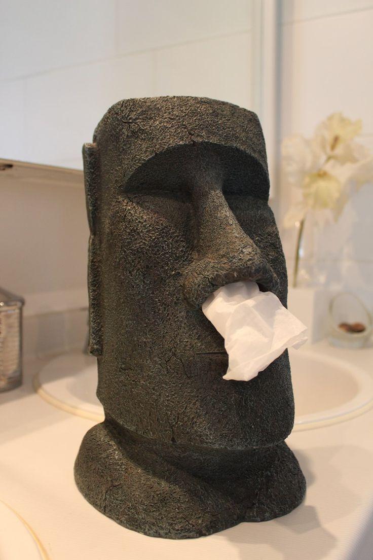 Moai Tissue box Holder grappige Tissue houder- Gadgets bij Mijn Producten