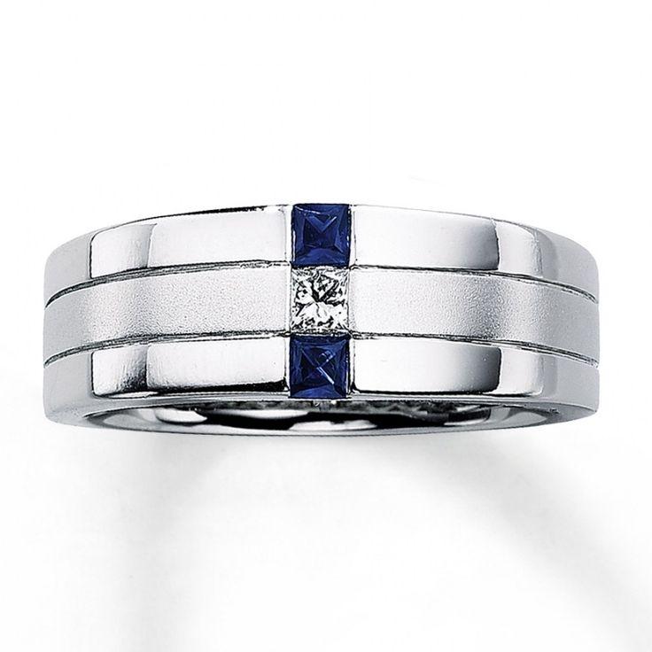 30 Stunning Mens Wedding Rings With Blue Sapphire Black RingBlack Diamond
