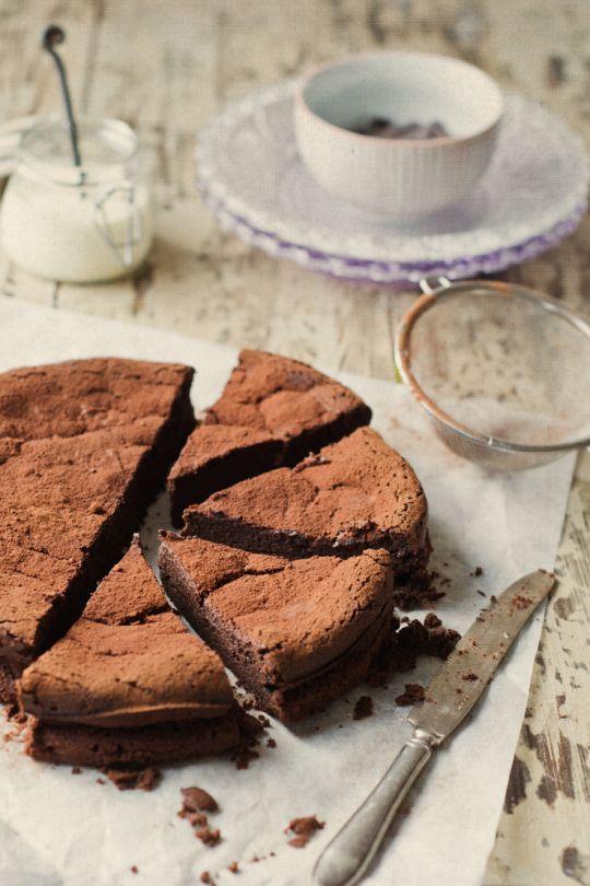 Mousse al cioccolato torta