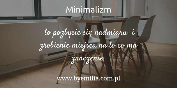 Minimalizm w praktyce