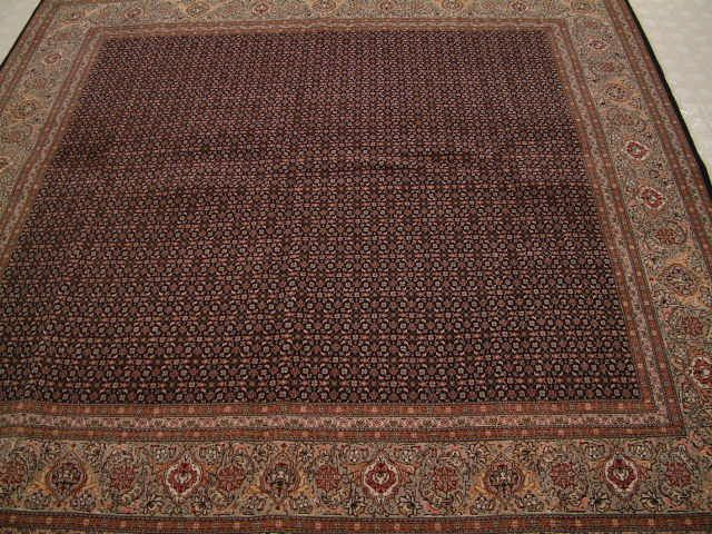 Large Square Pirouzian Tabriz Mahi Persian Rugs Section With Many And Nain Rug Every Is A Genuine