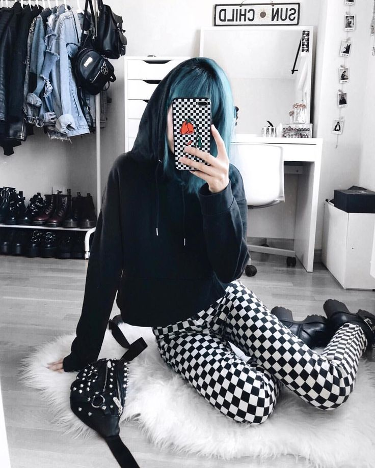 "LYDIA F. (@deaddsouls) on Instagram: ""i'm really into the checkered trend lol """