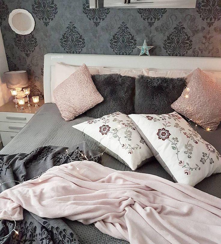 "877 Likes, 51 Comments - interior by yasemin (@yasemiin81) on Instagram: ""Happy weekend igfriends#beautiful #bedroomdecor #bedroom #homegoods #homedecor #homesweethome…"""